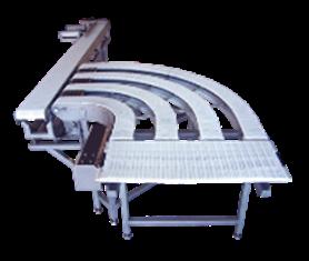 Конвейеры с пластиковой модульной лентой MIF